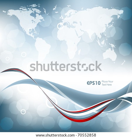 abstract technology vector background with copy space. Eps10