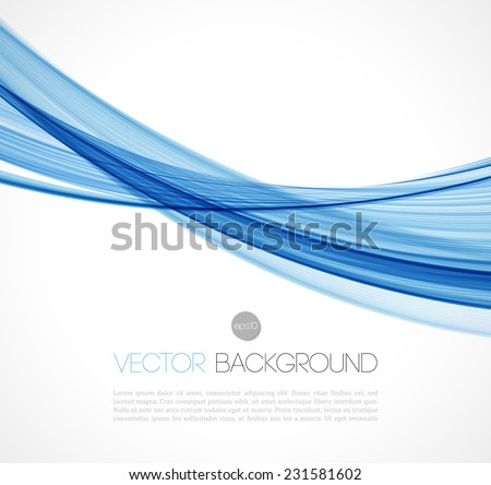 Abstract template background with color lines - stock vector