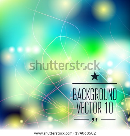 Abstract template with sparks and flashes for business artwork w