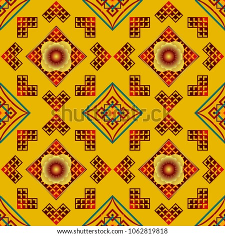 Abstract Texture Background Decorative Art Wall Stock Vector ...