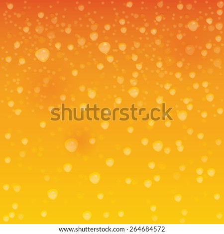 Abstract texture liquid with bubbles. - stock vector