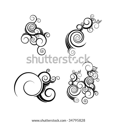 abstract texture organic vector graphic