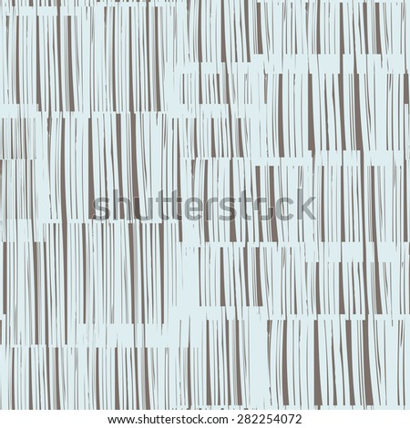 Abstract texture seamless pattern. Random stripes over background - stock vector
