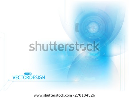 abstract time and technology use for background - stock vector