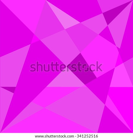 Abstract triangle violet texture background pattern. - stock vector