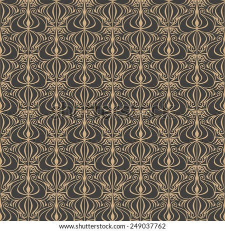 Abstract tribal seamless pattern - stock vector