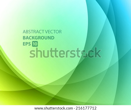 Abstract twist light lines waves vector background  - stock vector