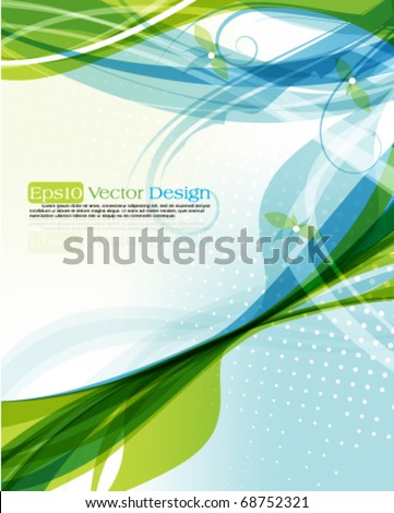 Abstract two color background - stock vector