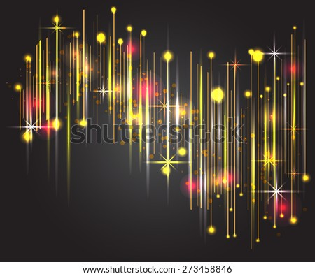 Abstract universal background. Vector illustration for your artwork, party flyers, posters. Cool equalizer for your presentation or other design - stock vector