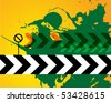 Abstract urban background, vector illustration - stock vector