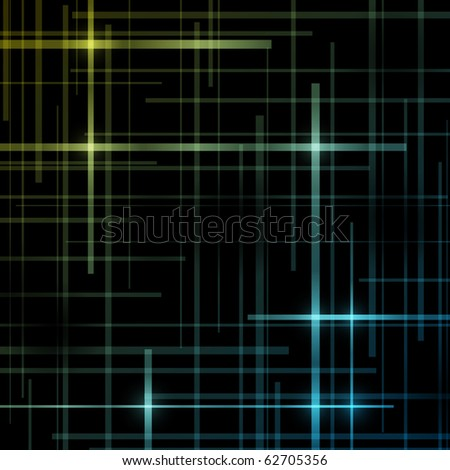 Abstract vector background - stock vector