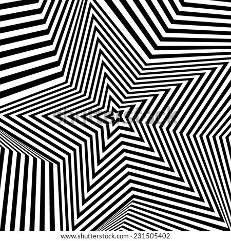 Abstract vector background. Black and white background