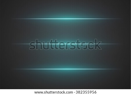 Abstract vector background. Bright neon lines - stock vector