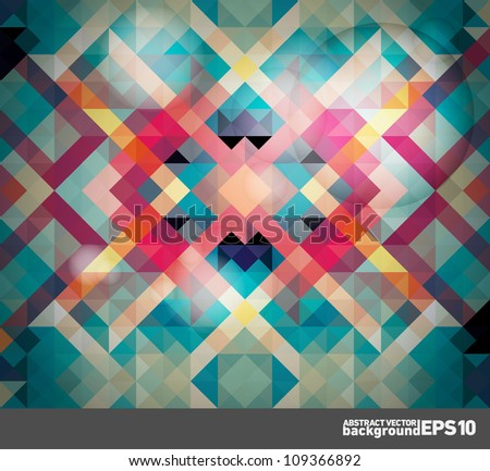 Abstract vector background | easy editable vector illustration | EPS10 - stock vector