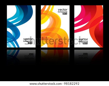abstract vector background EPS10 - stock vector