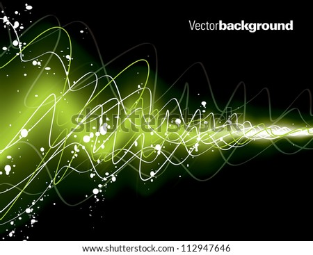 Abstract Vector Background. Eps10 Design. - stock vector