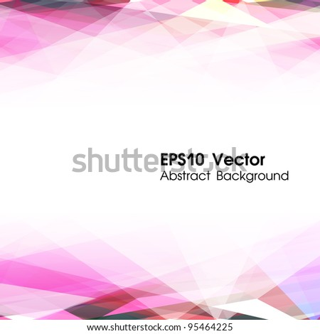 Abstract vector background. EPS10 illustration. Used opacity mask effect - stock vector