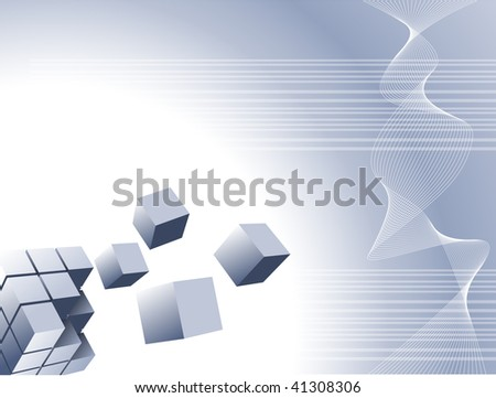 Abstract vector background for company presentation - stock vector