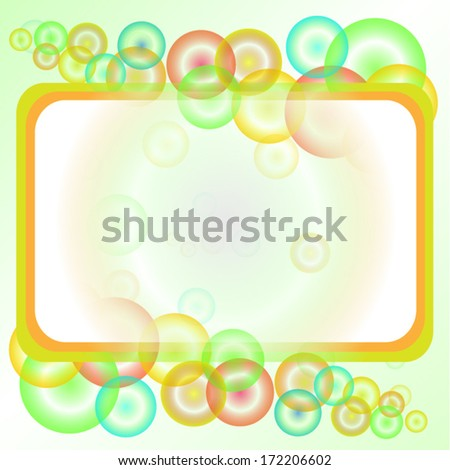 Abstract vector background for different uses - stock vector