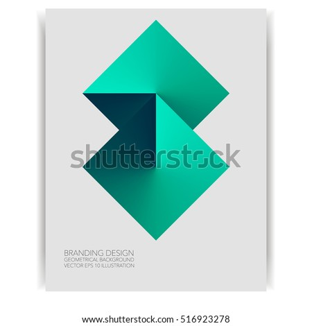 Abstract vector background geometric diamond shape stock vector abstract vector background geometric diamond shape isolated on card concept design template for business banner colourmoves