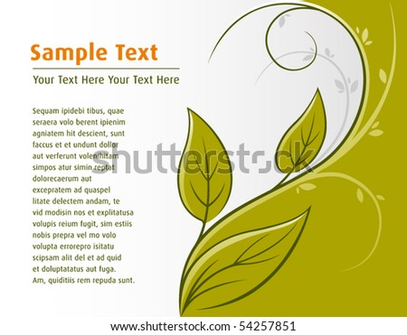 Abstract vector background. Illustration - stock vector