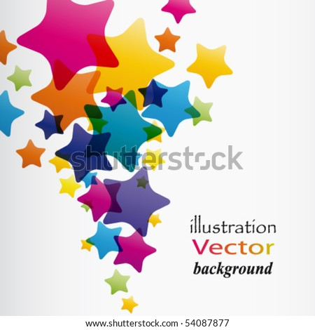 Abstract Vector Background Illustration for your design - stock vector