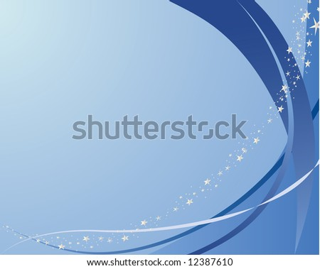 Abstract vector background in water color tones