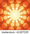 Abstract Vector Background - No Transparencies - stock vector