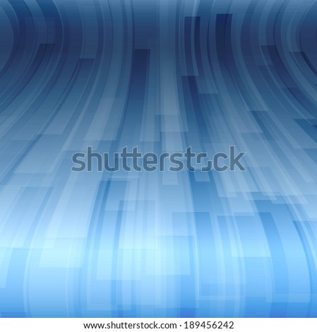 Abstract vector background. Perspective wave. Version without sample text. - stock vector