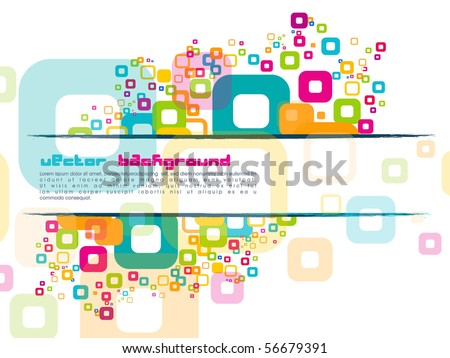 Abstract Vector Background.vector illustration - stock vector