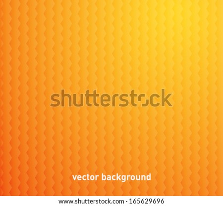 Abstract vector background with hexagons. Modern geometric pattern style - stock vector