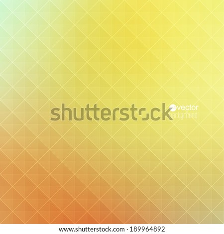 Abstract vector background with triangles and pattern of geometric shapes. for advertising, classified ads, layouts, web, internet, website, cover, booklet, magazine, banner. red, yellow, orange - stock vector