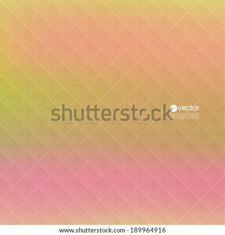 Abstract vector background with triangles and pattern of geometric shapes. for advertising, classified ads, layouts, web, internet, website, cover, booklet, magazine, banner. yellow, pink - stock vector