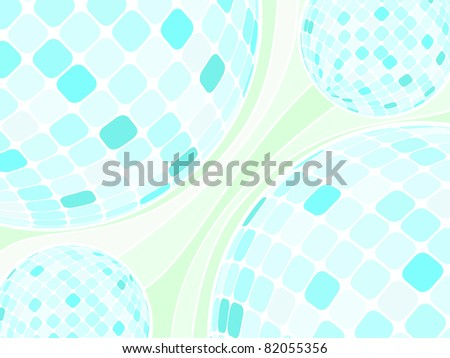 Abstract vector background without text - stock vector