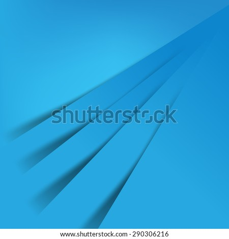 Abstract vector Blue background overlap layer and shadow - vector illustration eps10