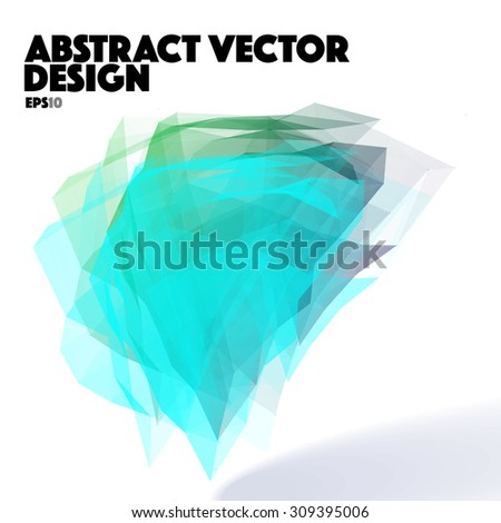 Abstract Vector Design Element - stock vector