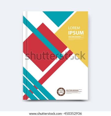 Magazine Isolated Photos RoyaltyFree Images Vectors – Annual Report Cover Page Template