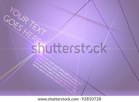 Abstract vector design template. EPS10 fully editable. - stock vector