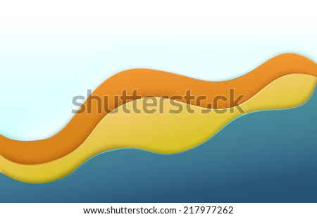 Abstract vector graphics shapes,  modern concept elements for full page content holder  banner for your design