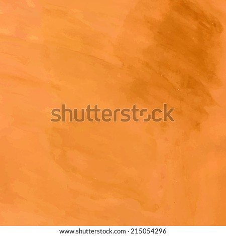 Abstract vector hand-drawn watercolor background. Colourful template. Vector illustration. - stock vector