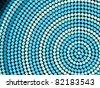Abstract vector hexagon background - stock photo