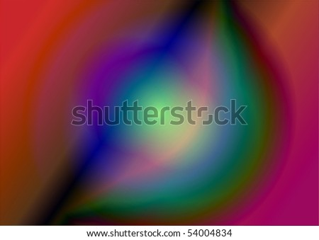 Abstract vector illustration - stock vector