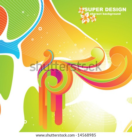 Abstract vector illustration for background.