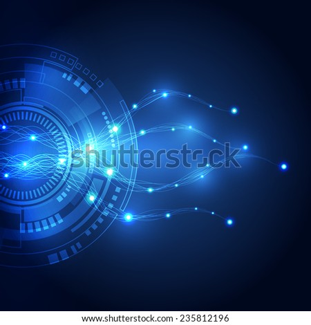 abstract vector internet technology background, vector