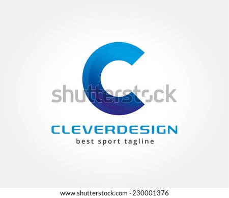 Abstract vector logo icon concept. Logotype template for branding and corporate design - stock vector