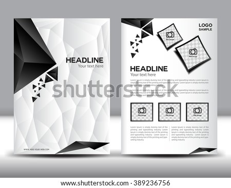 Collection « 2 Page Flyer Template » De Ganpanjanee Sur Shutterstock