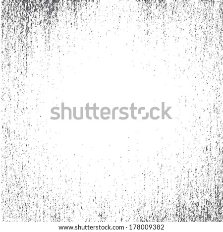 Abstract vector noise vignette background template - stock vector