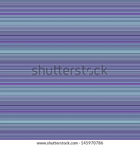 Abstract vector seamless pattern. Meditative lilac and blue horizontal stripes. - stock vector