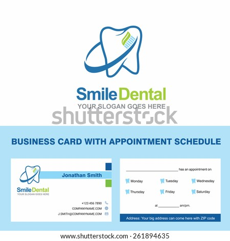 Abstract Vector Smile Dental Identity Concept Stock Photo (Photo ...
