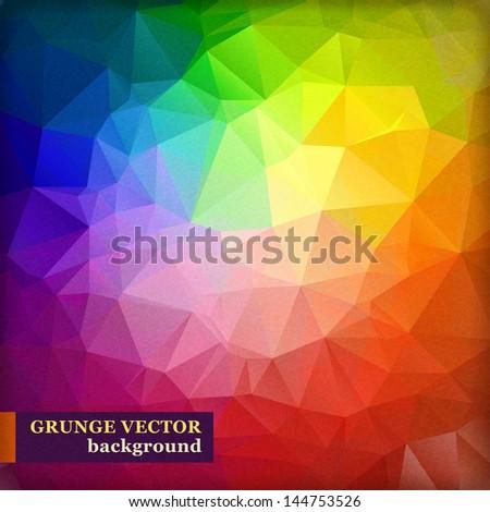 Abstract Vector Spectrum Background. - stock vector